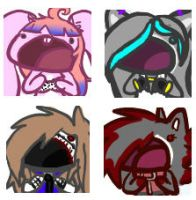 Batch1 of OMG Icons by SophiaWolfie