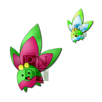 Fakemon POINSEED by psychonyxdorotheos