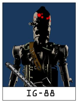 AlphaBots Week IX: I is for IG-88 by SamWolk