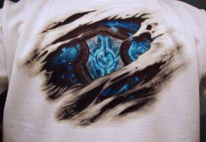 Axtelera-Ray T-Shirt by Visual3Deffect