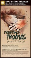 Doubting Thomas Church Flyer Template by loswl
