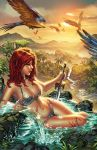 Red Sonja wet  by ebas