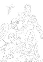 The Next Avengers by darkhawk5