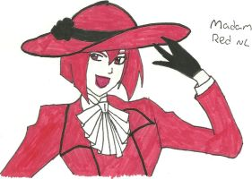 Madam Red by Shadowismrevilgecko