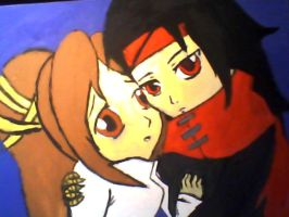 Vincent.x.Lucrecia.Chibi.Paint by demonprincess02