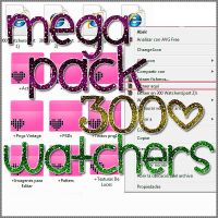 MEGA PACK 300 WATCHERS by GhostOfLoveEditions