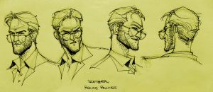 Bruce Banner Sketches by taguiar