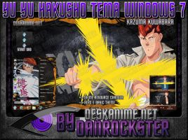 Kazuma Kuwabara Theme Windows 7 by Danrockster