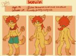 Kevin Ref new oc by chicapitufa