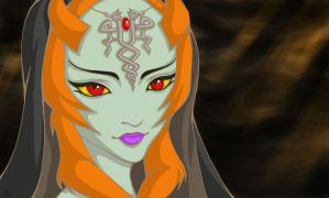 Legend of Zelda : Twilight Princess - Midna by Akuma-Chi