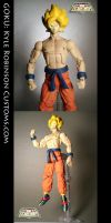Custom Goku DBZ Action Figure by KyleRobinsonCustoms