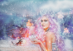 Winter Tale Photomanipulation. by MagicLaDyCharm
