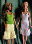 1:6th scale vest and petticoat by buttercupminiatures