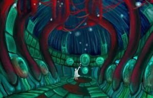 background: Mad Scientist Lab by magicfever49