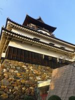 Inuyama Castle angle shot by moldypotatoes