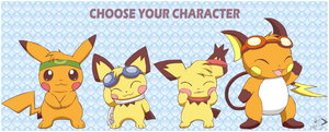 Choose Your Character by pichu90