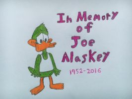 In Memory of Joe Alaskey by nintendolover2010