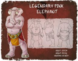 AATR: Legendary pink elephant by SuperOotoro