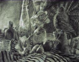 Still Life of the Charcoal by Prinnyking3