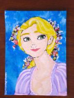 rapunzel. by scullylam