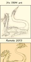 Remake dragon for sell by Sandragon