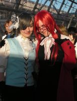 Grell and Ciel by lilotea-chan