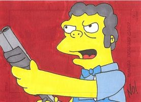Moe sketch card by nathanobrien
