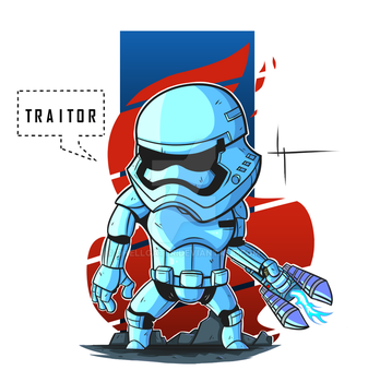 TR8R stormtrooper by DHellgater