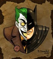 Joker Batman by Zatransis