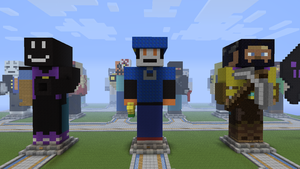 Klonoa on YouAreMinecraft (Front View) by MrChezco1995