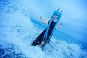 Miku - Deep Sea Girl - 1 by ImMuze