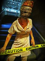 Silent Hill Nurse - TriCon 2012 by xsakichanx