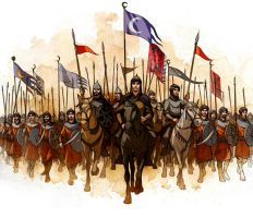 Arabian medieval army by javieralcalde