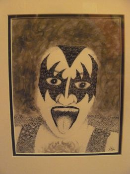 Mr. Richard Gene Simmons by darknessriver