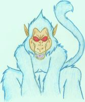 That is one big blue Monkey by SassyPrincess-LexyLu