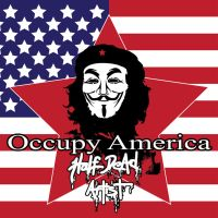 Occupy America Version 1 by HaLfDeAdArtist