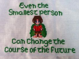 LOTR Cross Stitch by TombRaiderKuchen