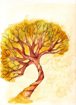 Knotted Tree Color by DeToverbal
