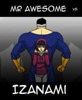 Mr Awesome vs Izanami Hype by JBarnzi88