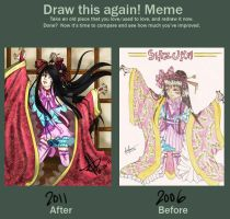 Before and After Meme by anime234dotcom