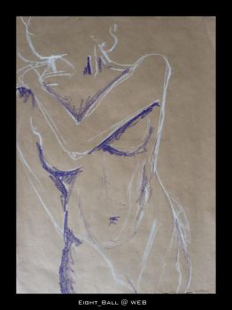 Nude Study 1 by 8Eight8Ball8