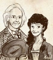 Gift: Doc And Clara by reubelyn