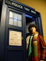 Fourth Doctor Serious by DoctorWhoNC
