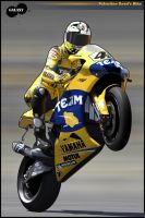 Valentino Rossi's bike t00n by BGGaLaXy