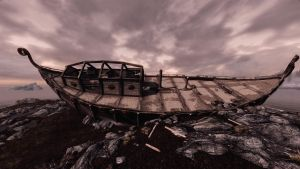Wreck of the Brinehammer #01 - RCRN 3.5 by lupusmagus