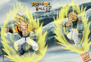 Super saiyan Sparring by ruga-rell