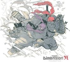 TMNT Dimension M TCF image art by zibanitu6969
