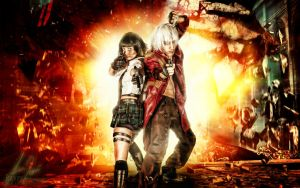 Dante and Lady (Devil may cry 3) by SeleneVirus