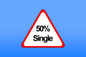 50 percent single by gio