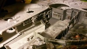 Millenium Falcon Large To celebrate the teaser :) by THE-WHITE-TIGER
